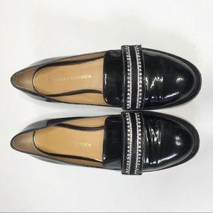 Badgley Mischka Sonoma patent leather loafer